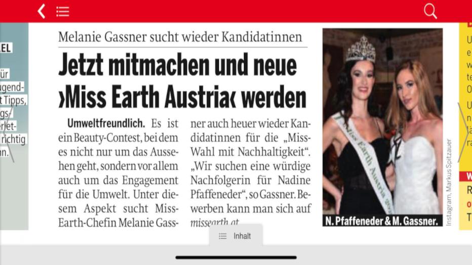 Bewerbung Österreich